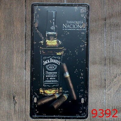 Metal Tin Sign jack daniel's Decor Bar Pub Home Vintage Retro Poster Cafe ART