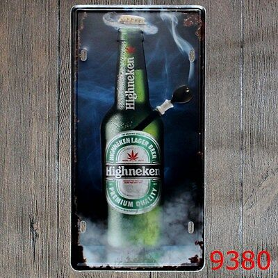 Metal Tin Sign highneken Decor Bar Pub Home Vintage Retro Poster Cafe ART