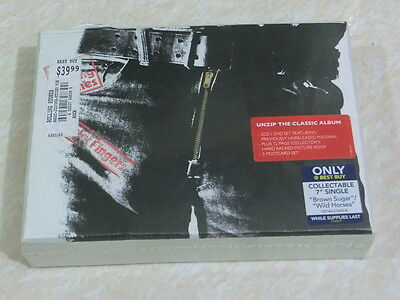 THE ROLLING STONES - STICKY FINGERS (LTD DELUXE BOXSET) 2 CD + DVD new sealed