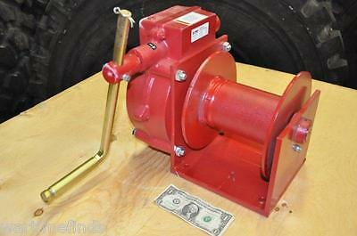 NEW-THERN 4000 lb.Hand Winch 2 TON! Worm Gear Model 482.Compare @ $1300