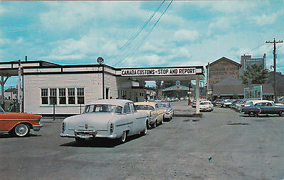 SAULTE STE. MARIE, Ontario, Canada , 50-60s ; Port of Entry