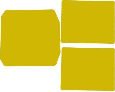 Yellow Adhesive Nassau Panel & Side Pod Sticker Set Go Kart Karting Race Racing