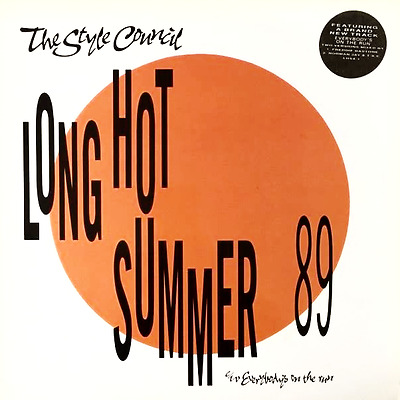 """THE STYLE COUNCIL - Long Hot Summer 89 (12"""") (VG-EX/VG)"""