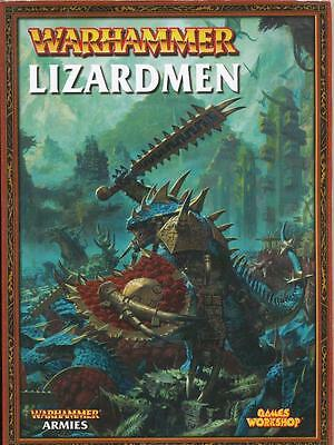 Warhammer Fantasy Lizardmen oop Codex Army Book
