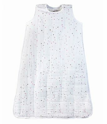 Aden & Anais Twinkle Star Pure Cotton Muslin 2.5 Tog Babies Toddler Sleep Sack