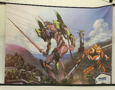 """43"""" Wide Neon Genesis Evangelion Unit 01 Home Decor Poster Wall Scroll"""