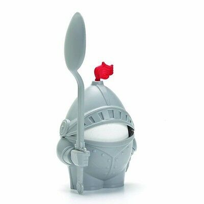 Childrens Boys Funny Colour Knight Arthur Fun Porcelain Novelty New Gift Egg Cup