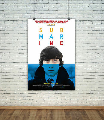 Submarine Movie Poster Photo All Sizes Classic Repro :  #A7516