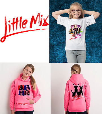 Little Mix 2017 Glory Days Tour T-shirt and Hoodie