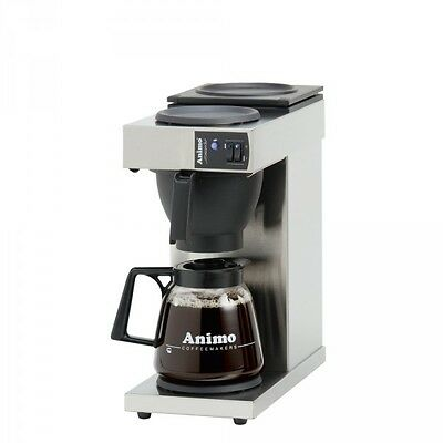 Animo Excelso Coffee maker, Glass jug 1,8L incl. Box coffee 80 x 60g