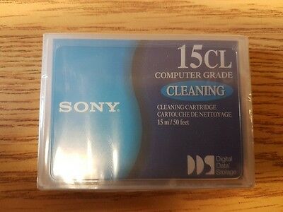 New Sony DDS DAT Sealed 15CL Computer Grade Cleaning Cartridge15m/50Ft DGD15CL
