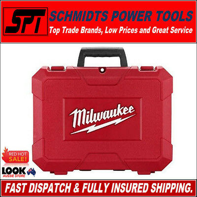 MILWAUKEE M18 18V CARRY CASE FOR DRILL & IMPACT DRIVER or WRENCH M18BPD M18BID