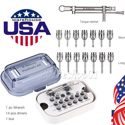 US Ship! NSK Style Dental 20:1 Reduction Implant Contra Angle Handpiece Surgical