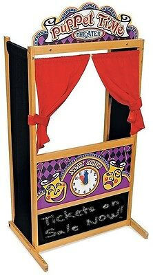 Melissa and amp; Doug Deluxe Puppet Theater Play Set