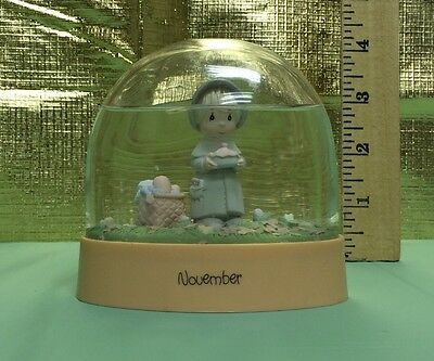 "Precious Moments ""November"" Birthstone Snowglobe 