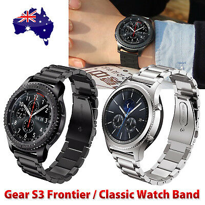Samsung Gear S3 Classic / Frontier Stainless Steel Strap Watch Band Bracelet OZ
