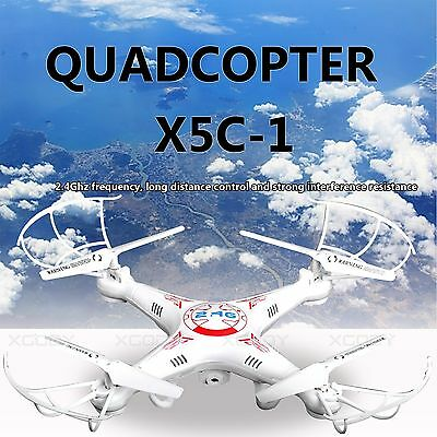X5C-1 2.4Ghz 6-Axis Gyro RC Quadcopter Drone UAV RTF UFO with Camera HD Drone