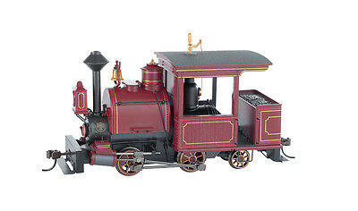 Bachmann 28260 On30 Painted & Unlettered 0-4-2 Porter w/DCC Steam Loco (Maroon)