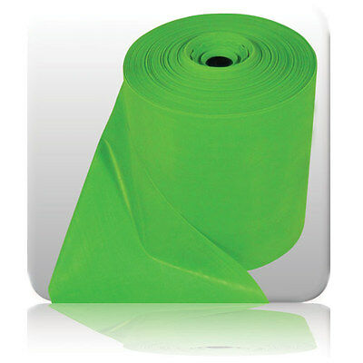 Fitness RESISTANCE Green BANDS Yoga Strength Exercise Gym Workout (Light) 25m