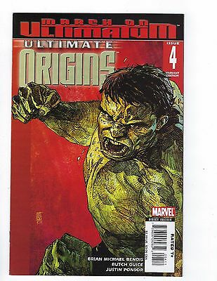 Ultimate Origins # 4 Variant Cover NM Marvel