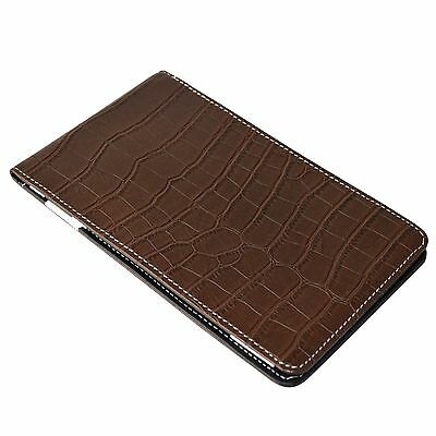 On Par Crocodile Scorecard Holder - Brown Black