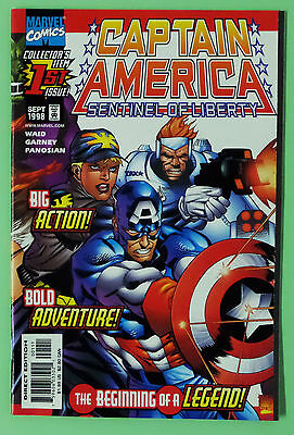 Captain America: Sentinel of Liberty First Issue. 1st Print. NM