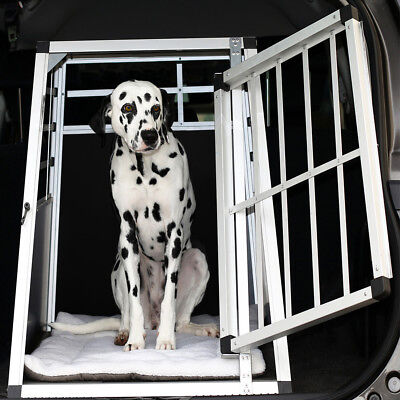 Hundebox Transportbox  Hundetransportbox Alubox Autobox Box Gitterbox ALU Hund