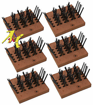 Genuine Numatic Replacement Wire Scarifying Brush Segments (Set of 6) 606834