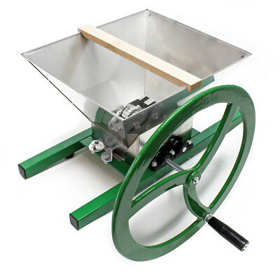 Fruit mill Fruit shredder Fruit crusher Berry mill with crank handle 7 l