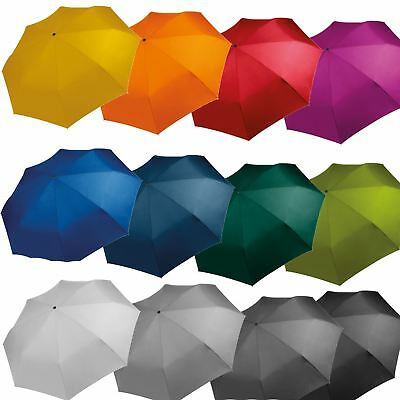 Kimood Foldable Compact Mini Umbrella - Assorted Colours Suitable for Embroidery