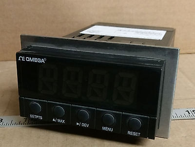 1 Used Omega Dp25B-Rtd-A-1.2 Rtd Temperature Meter/controller