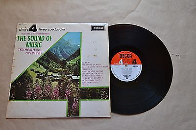 """The Sound Of Music Ted Heath And His Music      12"""" Vinilo   Lp   Vinyl"""