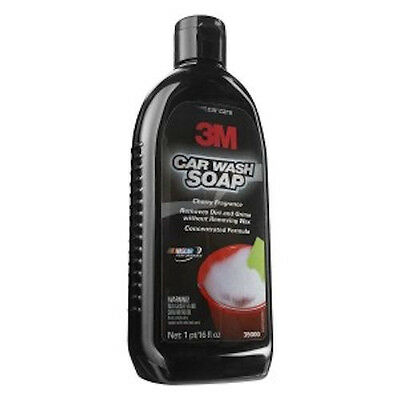 3M 39000 Car Wash Soap 16 oz. Auto Detail Shampoo Clear Coat Safe Phosphate Free