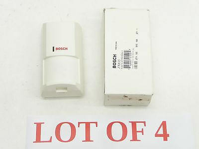 LOT 4 NEW IN BOX BOSCH ZX835 TRITECH PIR MOTION DETECTOR SENSOR 10.525GHz POPIT