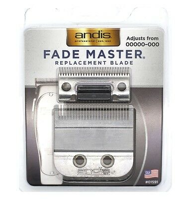 Andis #01591 ML-Fade Replacement Clipper Blade, Fade Master Adjustable 00000-000