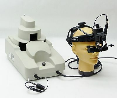 Coherent Lio Omni Surgical Laser Indirect Opthalmoscope Headset Om589 System