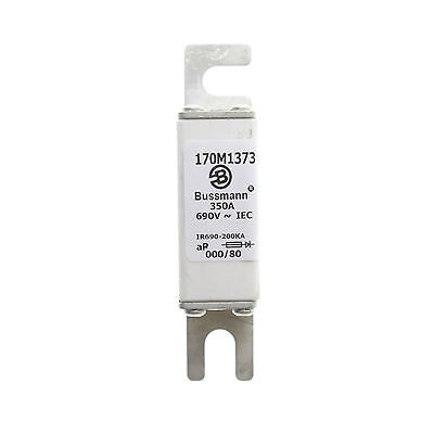 Bussmann 170M1373 Low-Temperature Square Body High Speed Fuse, 350-Amps, 690V