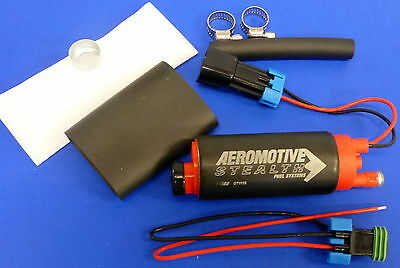 Aeromotive 11569 340 LPH Stealth In-Tank E85 Fuel Pump Chevy Pontiac Center Inle