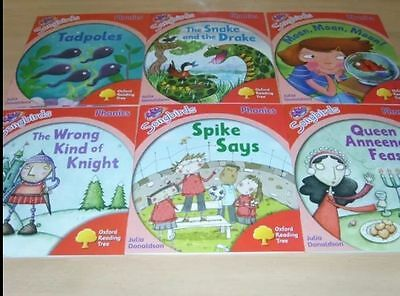 Oxford Reading Tree Stage Level 4 Songbirds Phonics 6 books NEW Julia Donaldson