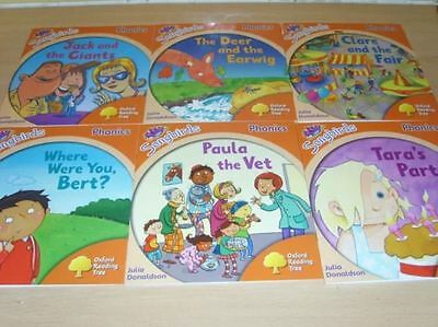 Oxford Reading Tree Stage Level 6 Songbirds Phonics 6 books NEW Julia Donaldson