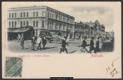 Adelaide: Grenfell Street, Early Card