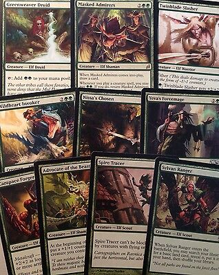 10 ELF PACK with Rare For Magic Mtg