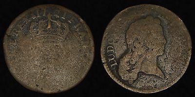 US COLONIAL (FRANCE) - 1721 1/2 Sol - Louis XV - John Law