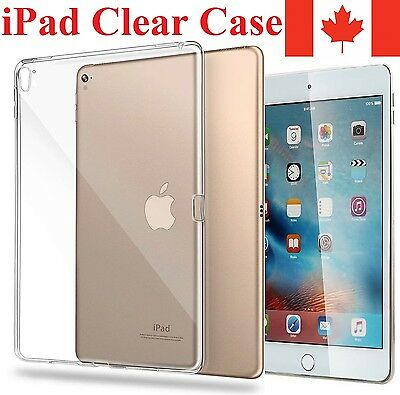 Clear iPad Case Transparent Protective Cover For Apple iPad (All Sizes)