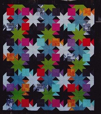 Sparkle - fun modern pieced quilt PATTERN - Color Girl