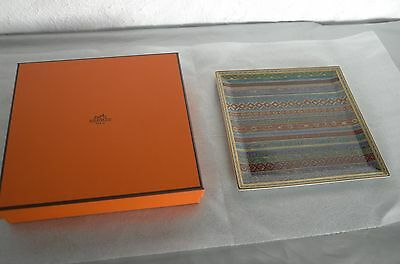 Hermes Paris Cheval D'orient Porcelain  Tray