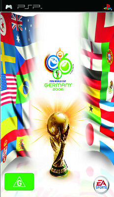 2006 FIFA World Cup PSP Game USED