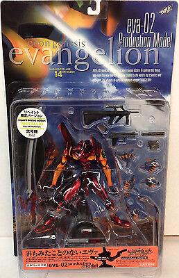 "Kaiyodo Neon Genesis Evangelion EVA-02 Production Model 8"" Figure - Metallic Red"