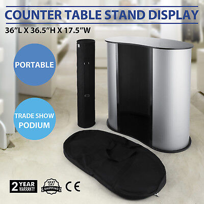 Podium Table Counter Stand Trade Show Display Promotion Retail Bag Portable
