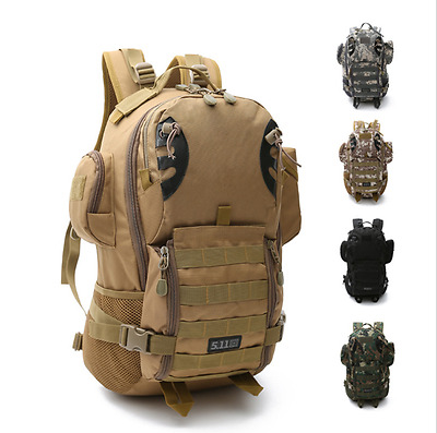 Outdoor Military Tactical Bag Camping Hiking Trekking Sports Waist Backpack